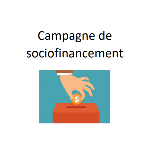 campagne de sociofinancement